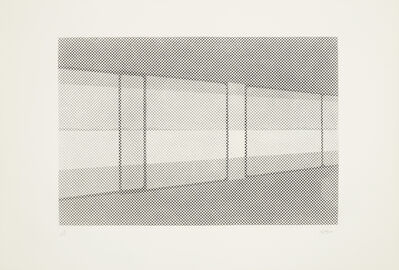 William Tillyer, 'Window', 1972