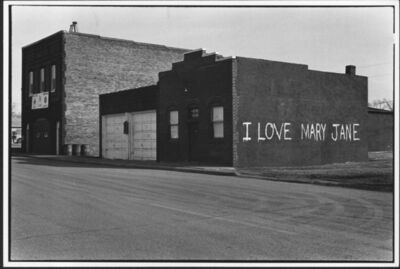 Erich Hartmann, ' I love Mary Jane, USA', 1976