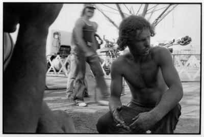 Danny Lyon, 'Carnies, New Mexico state fair, Albuquerque', 1981