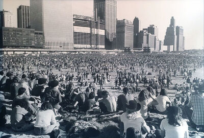 Allan Tannenbaum, 'Tribeca Beach Anti-Nuke Rally', 1979