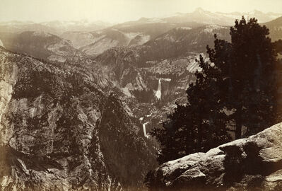 Carleton E. Watkins, 'Yosemite Valley From Inspiration Point', ca. 1964