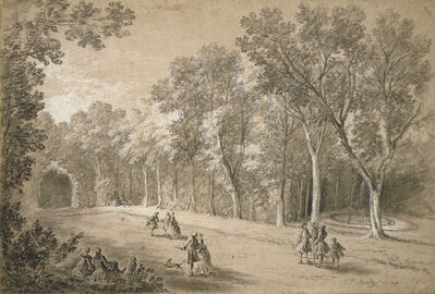 Jean-Baptiste Oudry, 'Park Scene', 1744