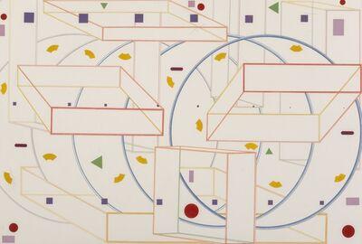 Al Held, 'Stone Ridge (two works)', 1983