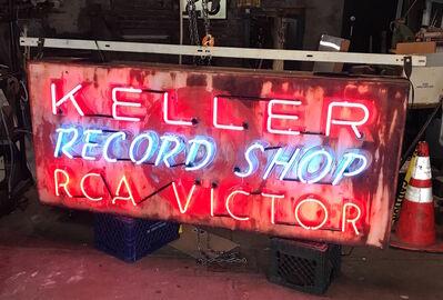 Neon Museum of Philadelphia, 'Keller Record Shop, RCA Victor', 1950's