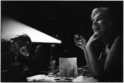 Elliott Erwitt, 'Marilyn Monroe and Lee Strasberg Watching the Rushes of 'The Misfits', Reno, Nevado',  1960