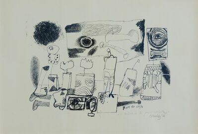Corneille, 'Place des Vosges  'le salon de la jeune sculpture'', 1966