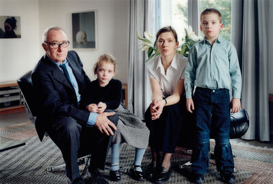 Thomas Struth, 'The Richter Family 2 Köln', 2002