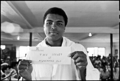 Al Satterwhite, 'The Secret of Muhammad Ali', 1971