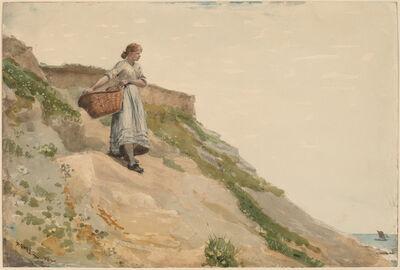 Winslow Homer, 'Girl Carrying a Basket', 1882
