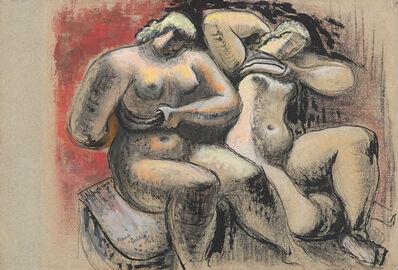 Frank Dobson, 'Two Women', 1943