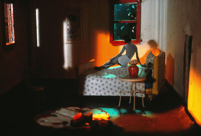 Laurie Simmons, 'Study for Long House (Red Shoes)', 2003