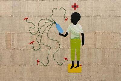 """Saidou Dicko, '""""Plastic in Bloom, Souley"""" Ouaga Paris', 2020"""