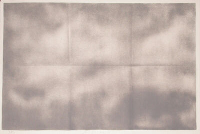 Joe Goode, 'Grey Folded Clouds - IV Grey', 1971