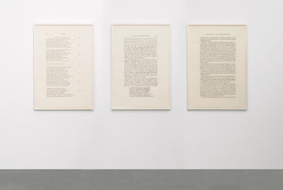 Bethany Collins, 'The Odyssey: 2000 / 1980 / 2001', 2018