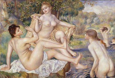 Pierre-Auguste Renoir, 'The Large Bathers', 1884-1887
