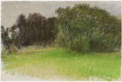 Wolf Kahn, 'Moody American Landscape', 1995