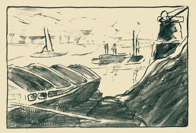 Karl Schmidt-Rottluff, 'Elbhafen', 1907