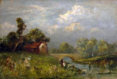 Edward Bannister, 'Untitled (Landscape)', ca. 1890