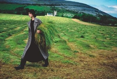 Arthur Elgort, 'Nadja Auermann, Ireland, Vogue', 1993