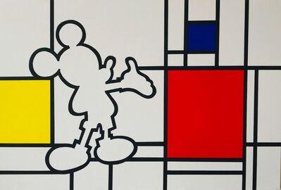 Jean-Paul Donadini, 'Mondrian and Mickey'