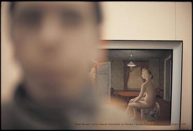 Carlos Gallardo, 'Pixel Terror, Autorretrato con Delvaux', 1982