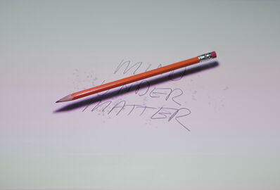Peter Sarkisian, 'Floating Pencil (Matter Over Mind)', 2011