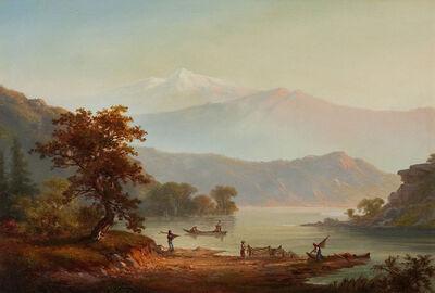 Alexander Loemans, 'Fishing Along the Shore'