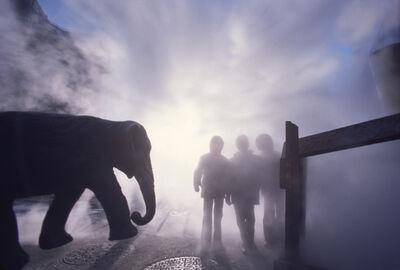 Robert Funk, 'Elephant Encounter:  Lower East Side', 1976