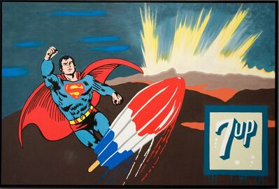 Ronnie Cutrone, 'Sunrise Superman', 1999