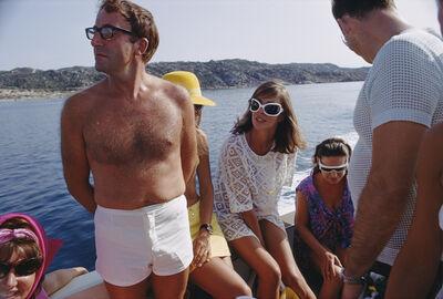 Slim Aarons, 'Celebrity Cruise', ca. 1965