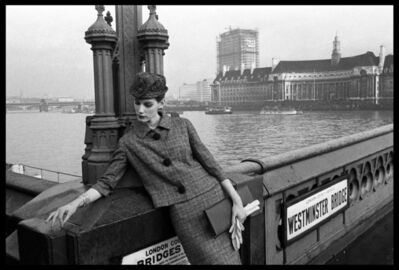 Brian Duffy, 'Fashion for 'Vogue', Westminster Bridge, 1961', 1961