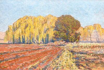 JH Pierneef, 'Willow trees in landscape', 1925