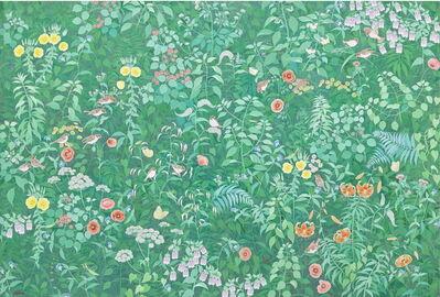 Lee Hae Kyung (b. 1957), 'Green Feeling', 2015