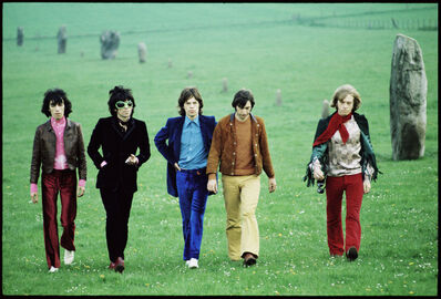 David Bailey, 'Rolling Stones, Avebury Hill', 1968