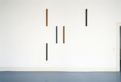 Hartmut Böhm, 'progression gegen unendlich mit 30° und 45°, in zwei richtungen, vertikale parameter', 1991