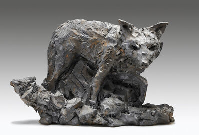Robert Arneson, 'Nite Wolf', 1988