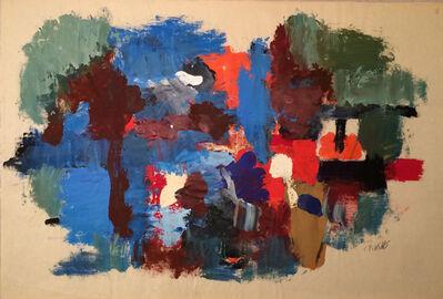 John Von Wicht, 'Mill Pond (Waterfall)', 1965