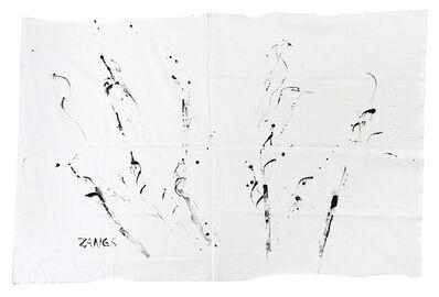 Herbert Zangs, 'Peitschenbild', 1981-1983