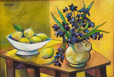 Erik Renssen, 'Still-life with Flowers and Lemons ', 2019