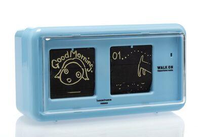 Yoshitomo Nara, 'Walk on Alarm Clock (Blue)', 2015
