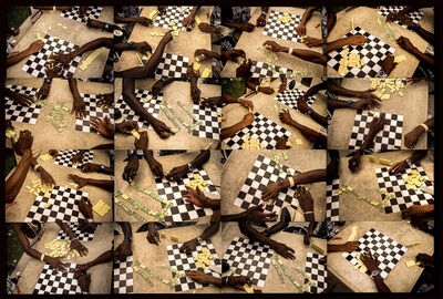 Isidora Gajic, ' Checkers and dominoes', 2016