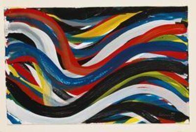 Sol LeWitt, 'Wavy Brushstrokes', 1994