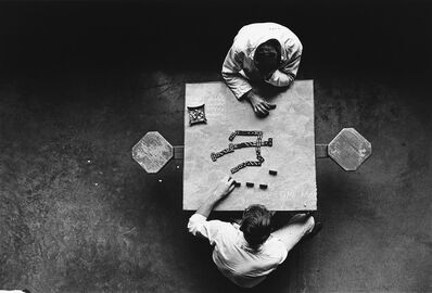 Danny Lyon, 'The Dominoes Players, Walls Unit, Texas Department of Corrections', 1979