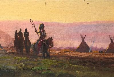 Nicholas Coleman, 'Near the Rosebud'