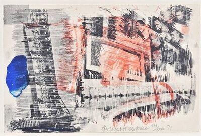 Robert Rauschenberg, 'Subtotal', 1972
