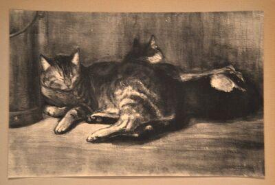 Théophile Alexandre Steinlen, 'Cats - From Chats et Autres Bêtes', 1933