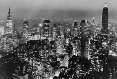 Samuel Gottscho, 'Southeast from the RCA Building', 1934