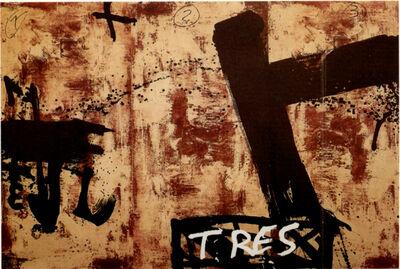 Antoni Tàpies, 'Gran triptic ', 1990
