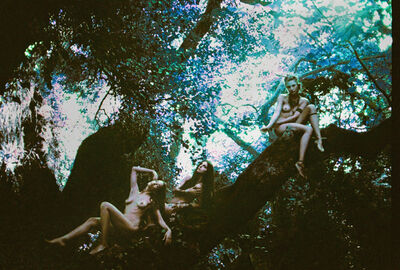 Kate Bellm, 'Greek Girls In The Forest, Athens', 2014