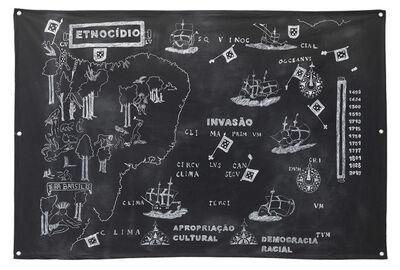 Jaime Lauriano, 'Terra Brasilis: invasão, etnocídio e apropriação cultural', 2015